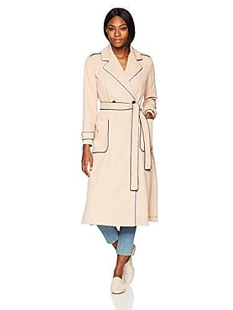 A|X Armani Exchange Womens Outline Trench Coat, Beige Rose, S