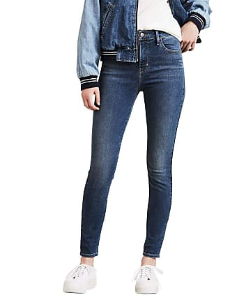 Levi s Calça Jeans Levis Feminina 720 High Rise Super Skinny Azul Média d66df98b02a