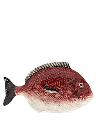 Bordallo Pinheiro Fish Earthenware Platter - Red Multi
