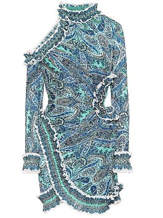 Zimmermann Moncur ruffled paisley minidress