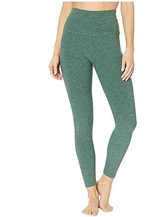 702d68065d Beyond Yoga Spacedye High-Waist Midi Leggings (Aloha Green/Dark Tropic)  Womens
