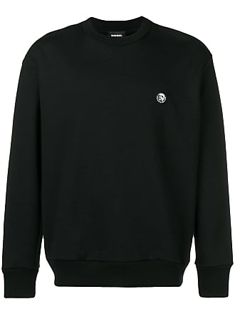 Diesel logo badge sweatshirt - Black