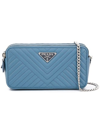 f5d8691397ee Prada quilted mini crossbody bag - Blue