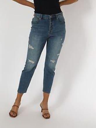 Springfield Jeans con Tejido Deslavado<br>Slim Boyfriend Fit<br>Azul