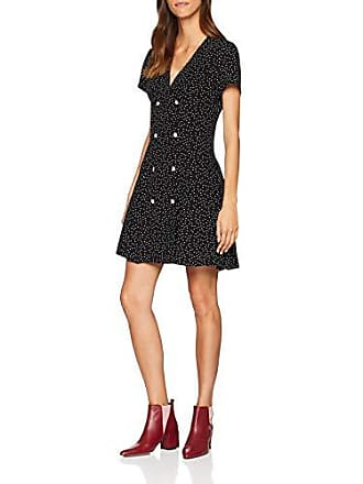 New Look Rhea Tea, Robe Femme, Noir (Black Pattern), 38 ( 01fbf5bcc6f3