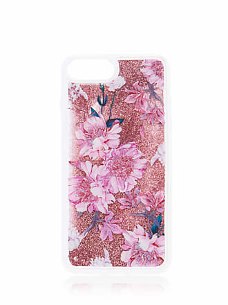 Forever New Lea Floral Shaky Phone Case i6/7/8P - Pink Glitter - 00