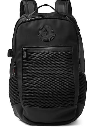 Moncler Gilles Cordura Nylon And Mesh Backpack - Black