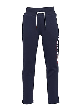 7a84b26d96a Tommy Hilfiger Flag Interlock Pants Sweatpants Mjukisbyxor Blå TOMMY  HILFIGER