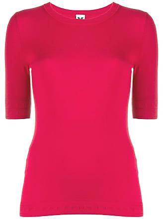 M Missoni knitted top - Vermelho