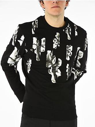 Neil Barrett Crewneck STRIPED FLORAL Sweatshirt size L