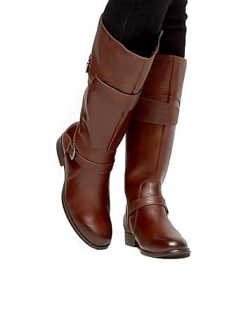 4aa7d5d773 Shoestock Bota Couro Montaria Shoestock Cobra Feminina - Feminino