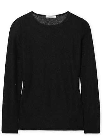 Max Mara Strillo Crystal-embellished Knitted Sweater - Black