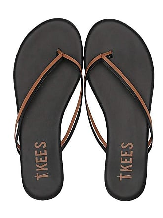 8349b2ab9 Tkees Flip-Flop-Duos (Brownie) Womens Toe Open Shoes