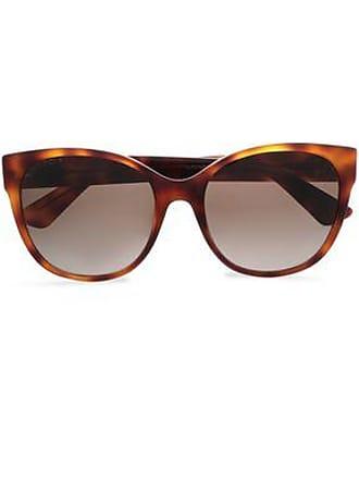 Gucci Gucci Woman D-frame Tortoiseshell Acetate Sunglasses Animal Print Size