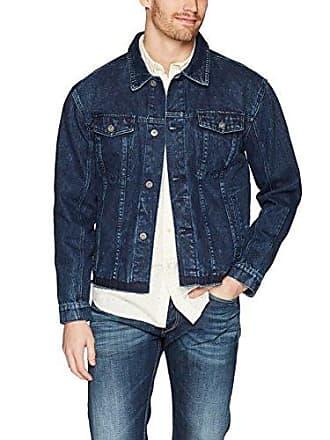 Zanerobe Mens Cotton Snitch Denim Jacket, Vintage Navy Acid, XS