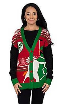 74b0035f2a3000 Junk Food Star Wars Boba Fett Ugly Christmas Ca rdigan Sweater
