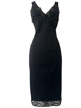 Dolce   Gabbana 90s Classic Dolce   Gabbana Black Fitted Slip Dress ... 4c6b8e882