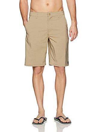 Rip Curl Mens Mirage Phase 21 Boardwalk Hybrid Shorts, Khaki 4K, 30