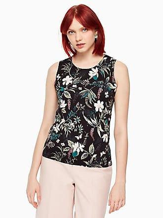 Kate Spade New York Botanical Sleeveless Sweater, Black - Size XS
