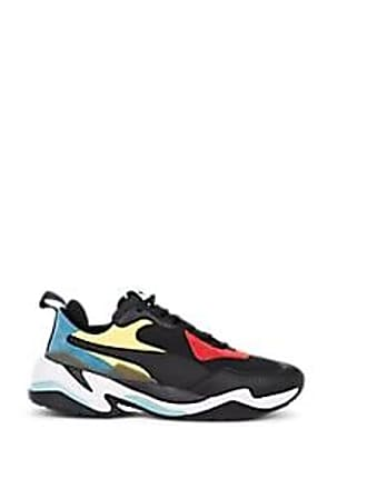 512feec2ffbe Puma Mens Thunder Spectra Neoprene   Leather Sneakers - Black Size ...