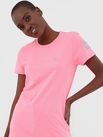 Hurley Camiseta Hurley Silk Block Rosa