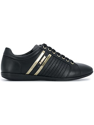 7ced369a639 Versace Collection paneled bowling sneakers - Black