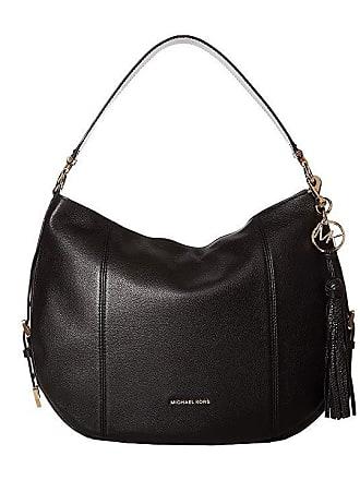09d74b21793f Michael Kors Brooke Large Hobo (Black) Hobo Handbags