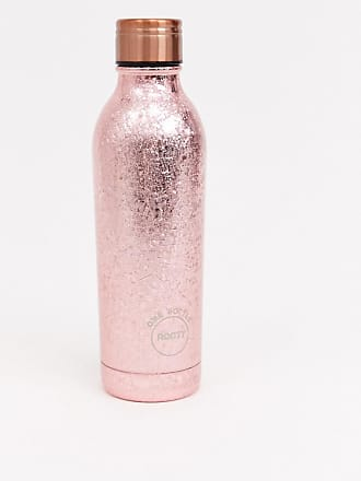 Root 7 rose gold sparkle 500ml water bottle