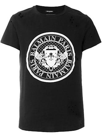 Balmain®  Camisetas em Preto agora com até −20%   Stylight 76f20c34f6