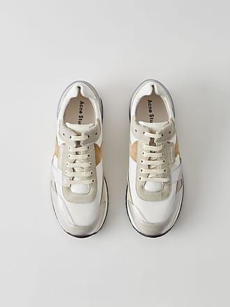 a650383937 Acne Studios Jimmy Label Multi Weiß Running-Sneaker im Vintage-Stil