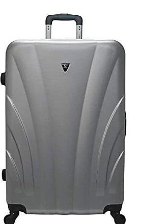 Yin's Mala de Viagem Bordo ABS c/Rodinhas 360° Prata YS1009Pa-P