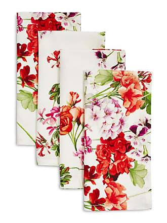 Sur la table Red & Pink Floral Napkins