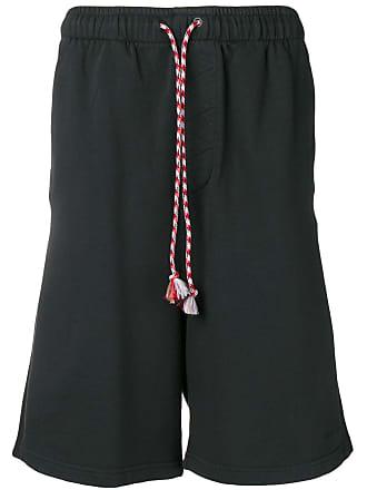 Qasimi black track shorts