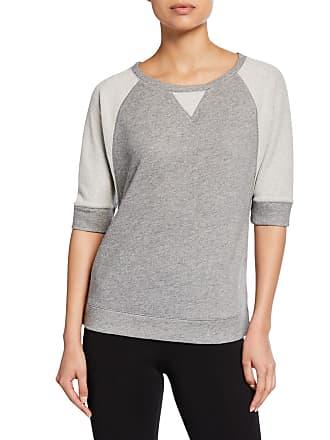 Iconic American Designer Mix-Texture Raglan Sweater