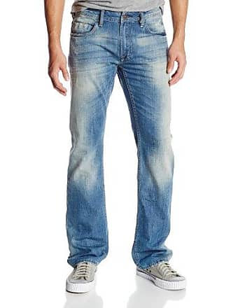 Buffalo David Bitton Mens Driven Straight Leg Jean In Tumbled and Damamged, Tumbled/Damamged, 34x30