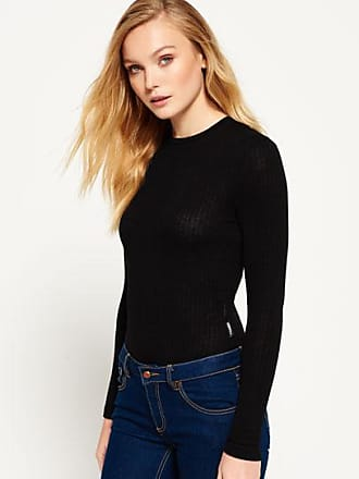 6449186277e4 Black Long Sleeve Bodysuits: 33 Products & up to −80% | Stylight