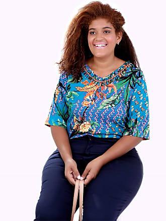 Vickttoria Vick Blusa Kika Designer Plus Size (46)