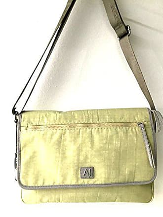 2acd01144dd2 Armani Jeans Umhängetasche Herren Tasche Schultertasche Messenger Nylon zip  sued