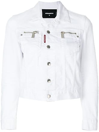 dsquared2 denim jackets must haves on sale up to 65 stylight 1980s Food dsquared2 zipped pocket denim jacket white