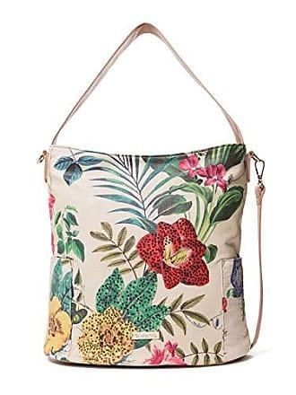 4a43e7c4c Desigual Bag Clio Yakarta Mini Women, Shoppers y bolsos de hombro Mujer,  Blanco (