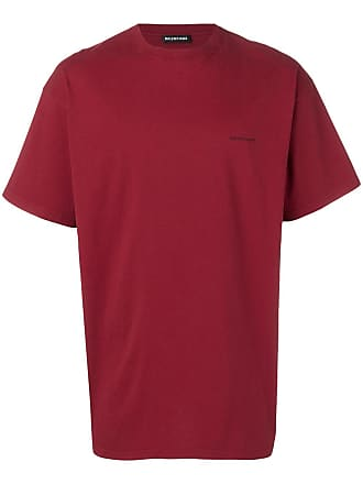 Balenciaga Camiseta manga curta - Vermelho