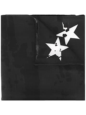 Givenchy Lenço estampado com logo - Preto