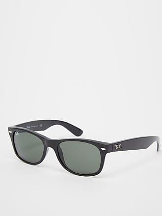 Ray-Ban Gafas de sol estilo Wayfarer de corte mejorado en negro ORB2132 de  Ray 83df2f47e87f