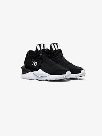 ba9c21607c40 Yohji Yamamoto black and white kaiwa sneakers. In high demand