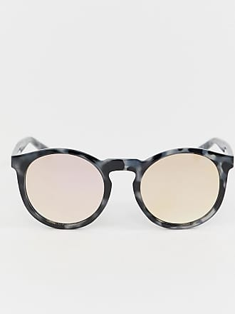Quay Eyeware Lunettes de soleil rondes - Écaille de tortue - Gris 1f6e30ef4bd4
