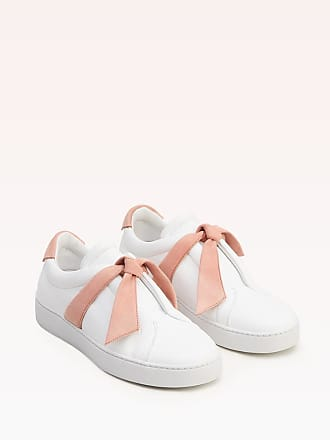 Alexandre Birman Clarita Leather Sneaker - 35 Blush Leather