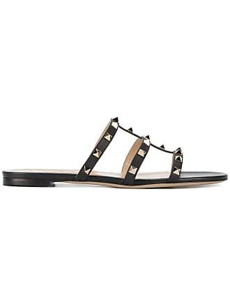 f95739321d22 Valentino Valentino Garavani Rockstud sandals - Black