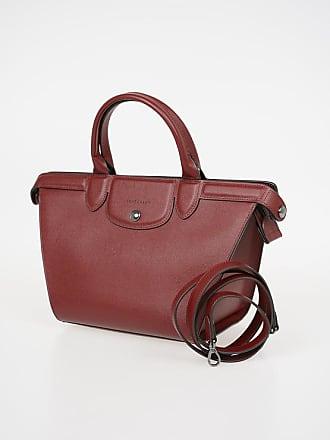 513775d6c54 Longchamp Leather Medium Tote Bag size Unica