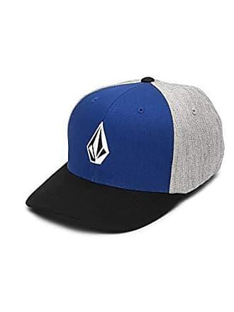 save off e292a 95699 Volcom Mens Full Stone Xfit Flex Fit Hat, Midnight Blue Small Medium