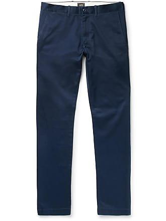 J.crew 484 Slim-fit Stretch-cotton Twill Chinos - Navy